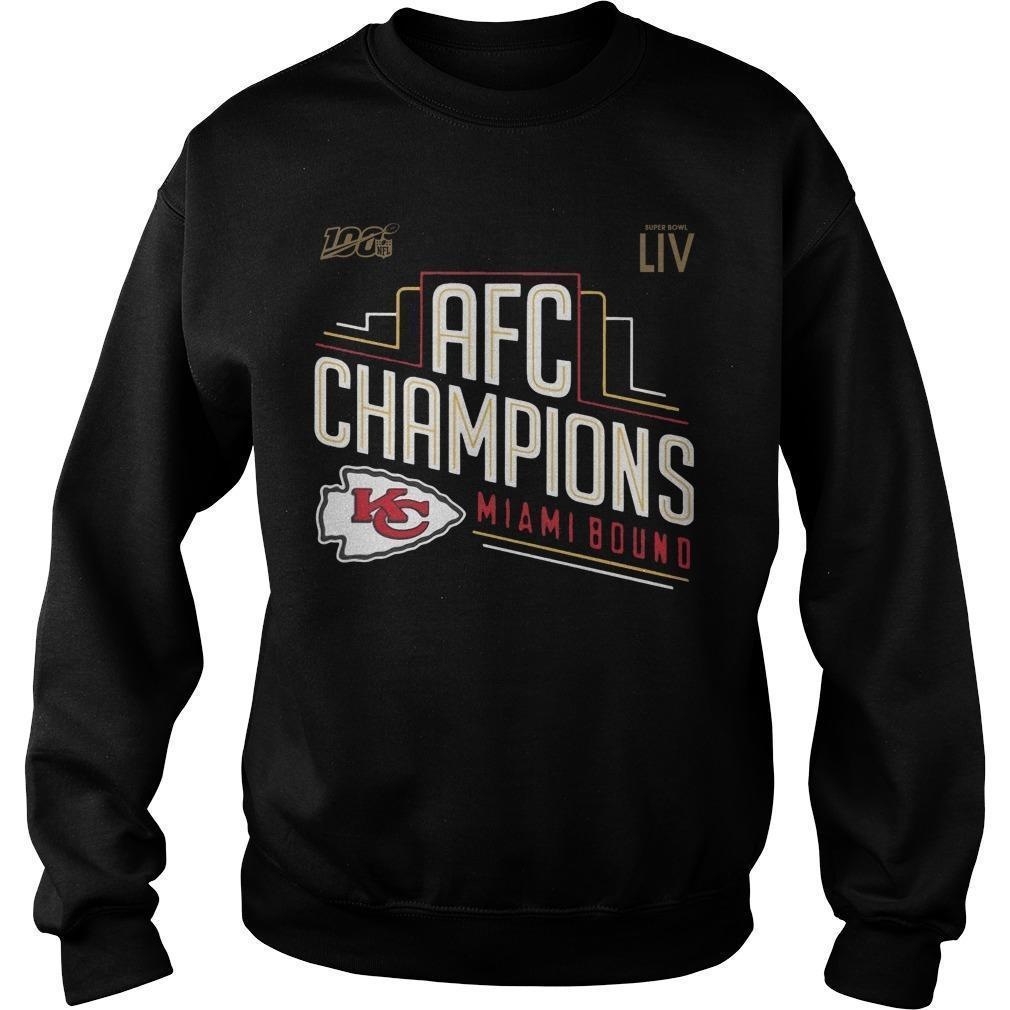 Chiefs Afc Championship Sweater