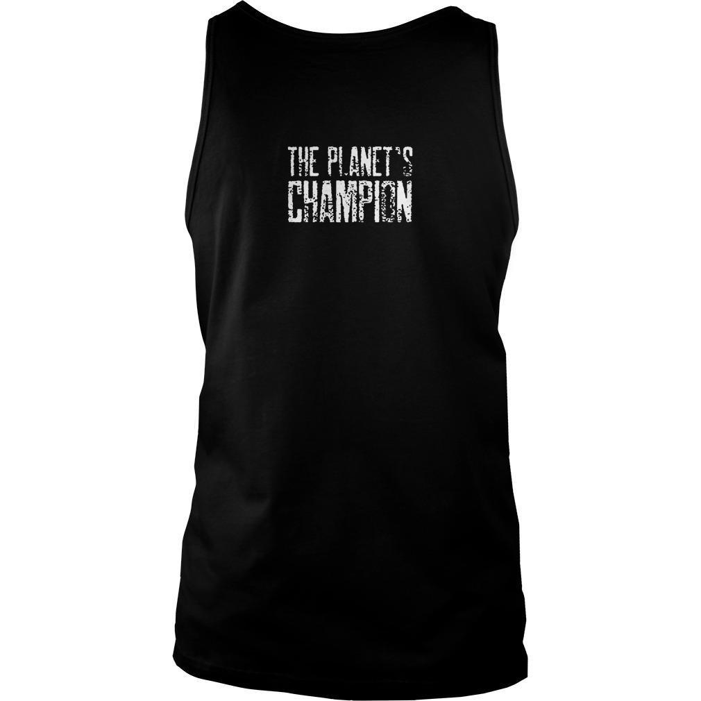 Daniel Bryan The Planet's Champion Tank Top
