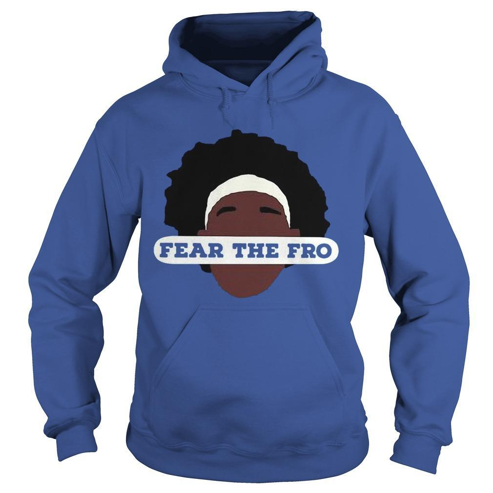 Fear The Fro Hoodie