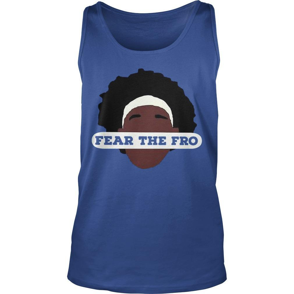Fear The Fro Tank Top