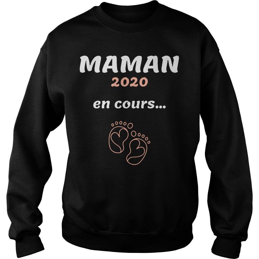 Feet Maman 2020 En Cours Sweater