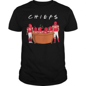 Friends Tv Show Kansas City Chiefs Shirt
