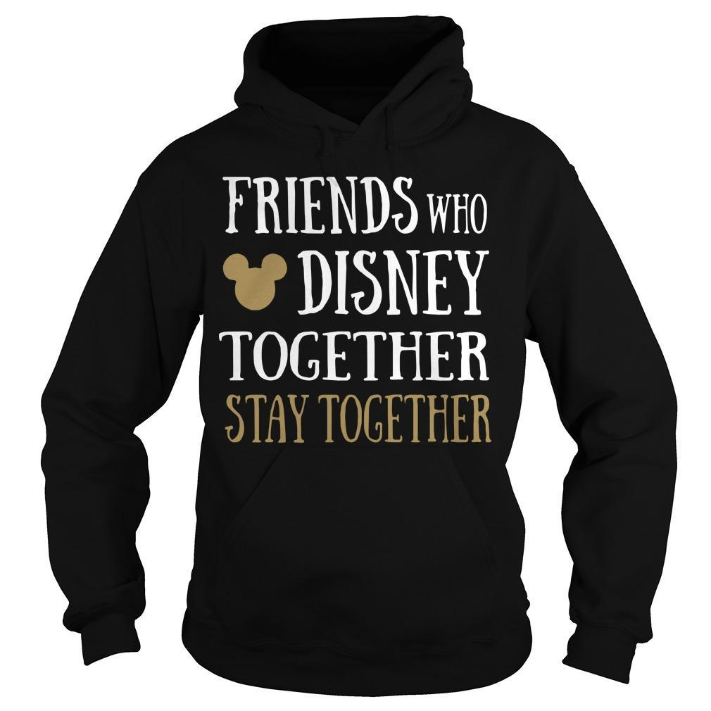 Friends Who Disney Together Stay Together Hoodie