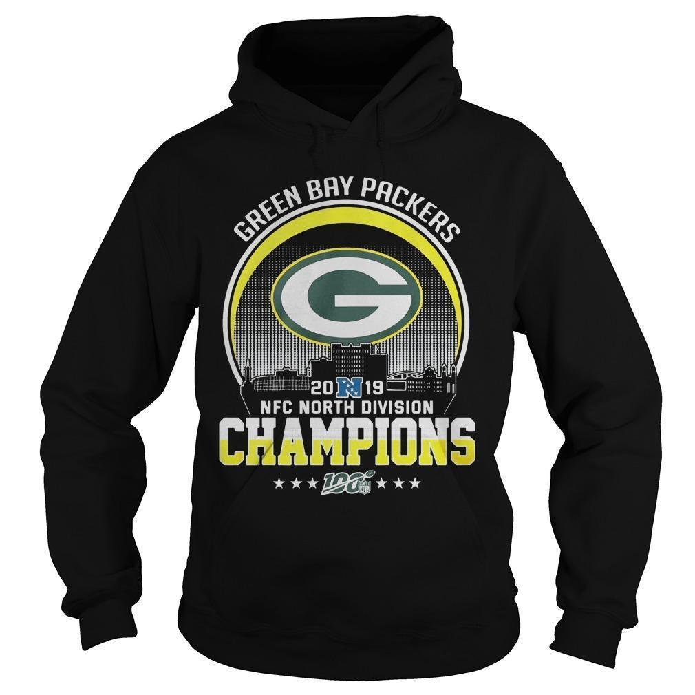 Green Bay Packers 2019 Nfc North Division Champions Hoodie