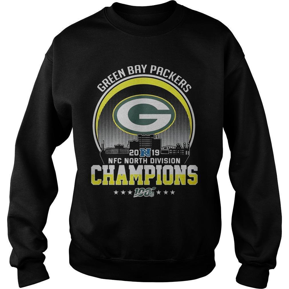 Green Bay Packers 2019 Nfc North Division Champions Sweater
