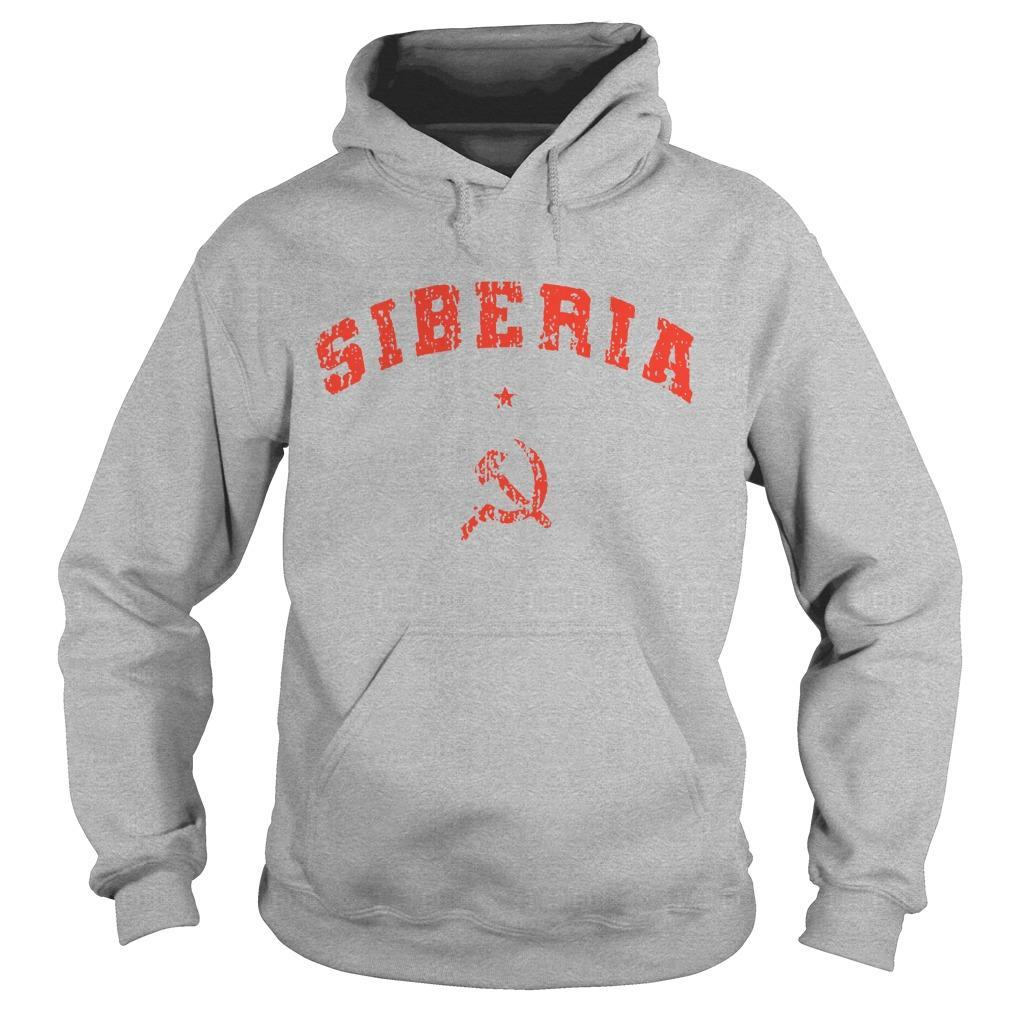 Hammer And Sickle Siberia Hoodie