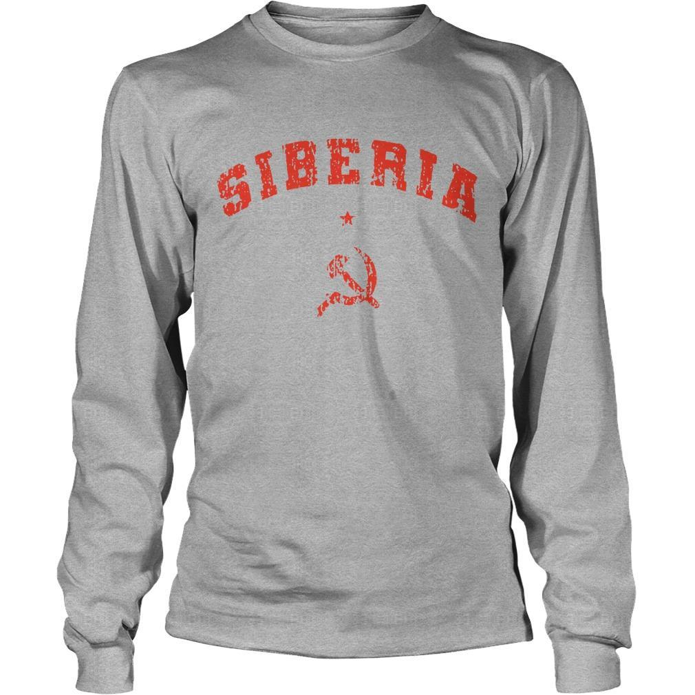 Hammer And Sickle Siberia Longsleeve