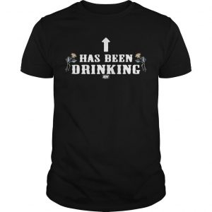 Hangman Page Has Been Drinking Shirt