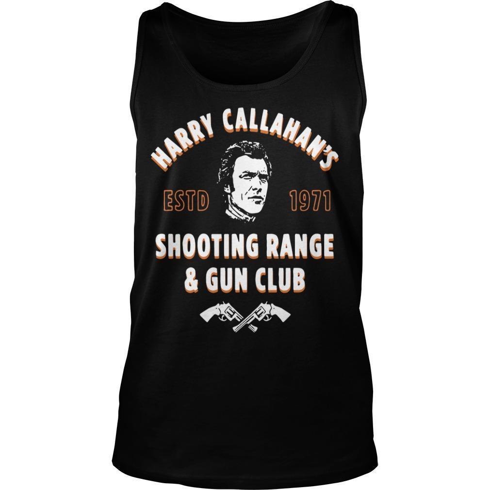 Harry Callahan's Estd 1971 Shooting Range And Gun Club Tank Top