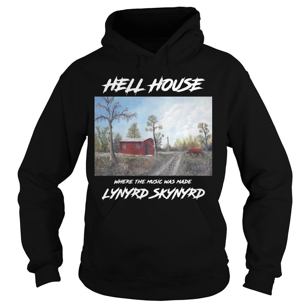 Hell House Where The Music Was Made Lynyrd Skynyrd Hoodie