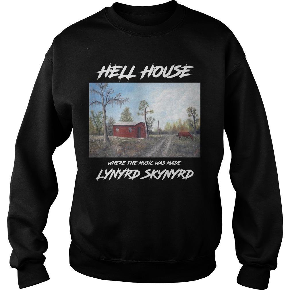 Hell House Where The Music Was Made Lynyrd Skynyrd Sweater