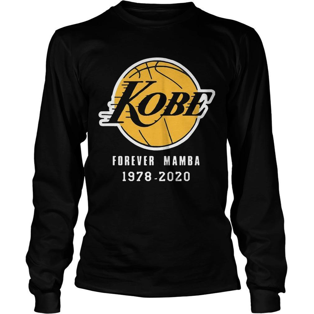 Kobe Forever Mamba 1978 2020 Longsleeve