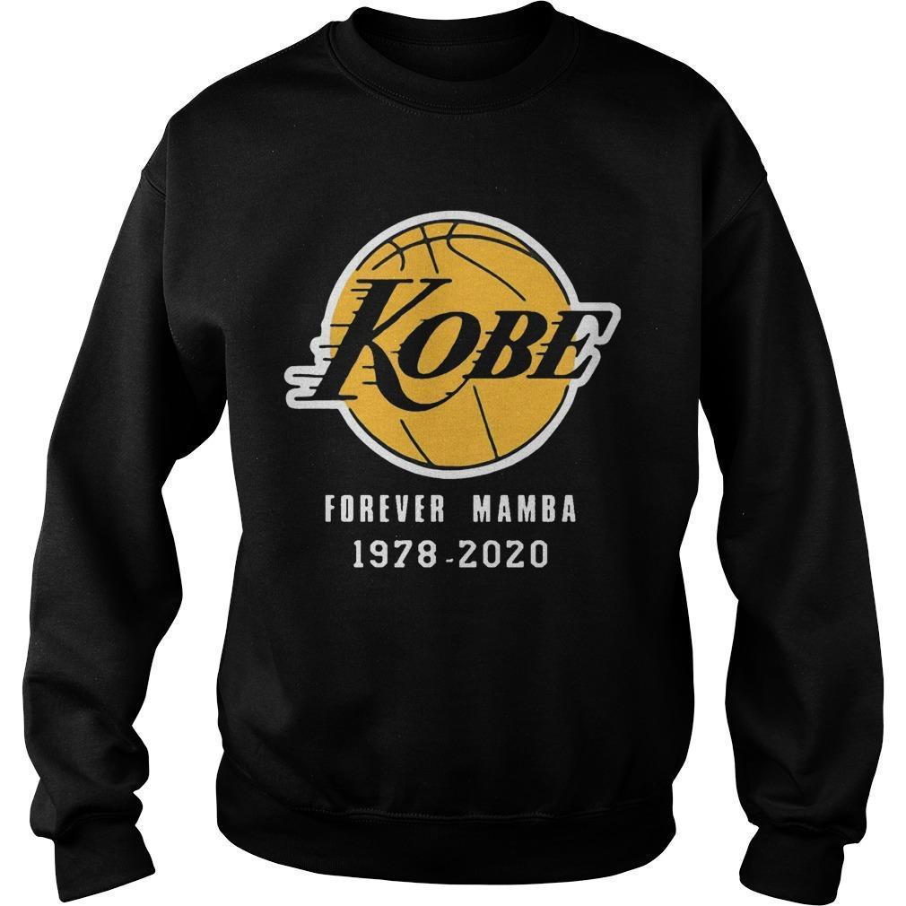 Kobe Forever Mamba 1978 2020 Sweater