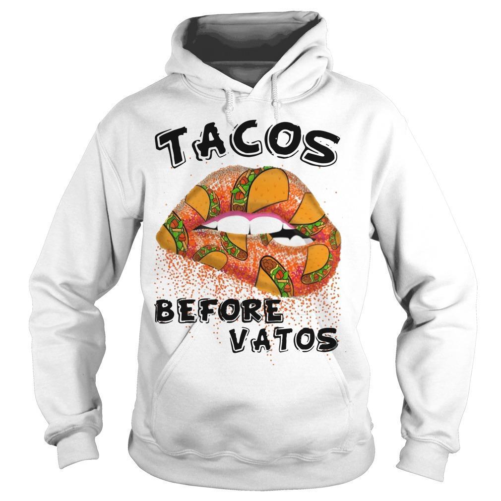 Lip Tacos Before Vatos Hoodie