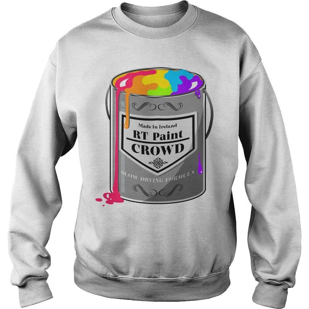 Made In Ireland Rt Paint Crowd Slow Drying Formula Sweater