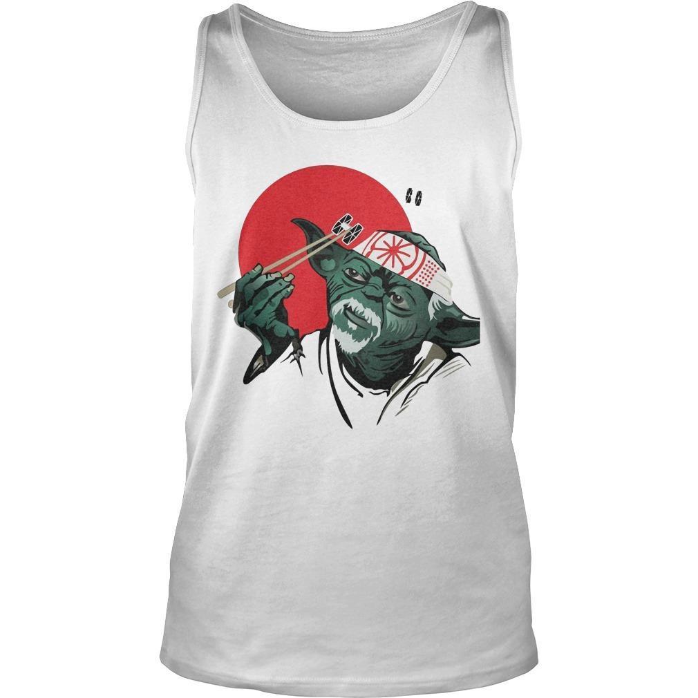 Master Yoda And Mr Miyagi Tank Top