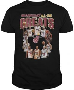 Miami Heat All Time Greats Shirt