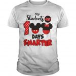 Mickey No Students Are 100 Days Smarter Shirt