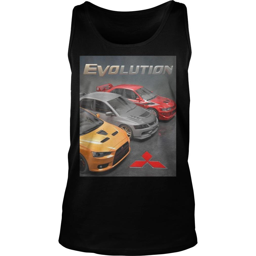 Mitsubishi Evolution Tank Top