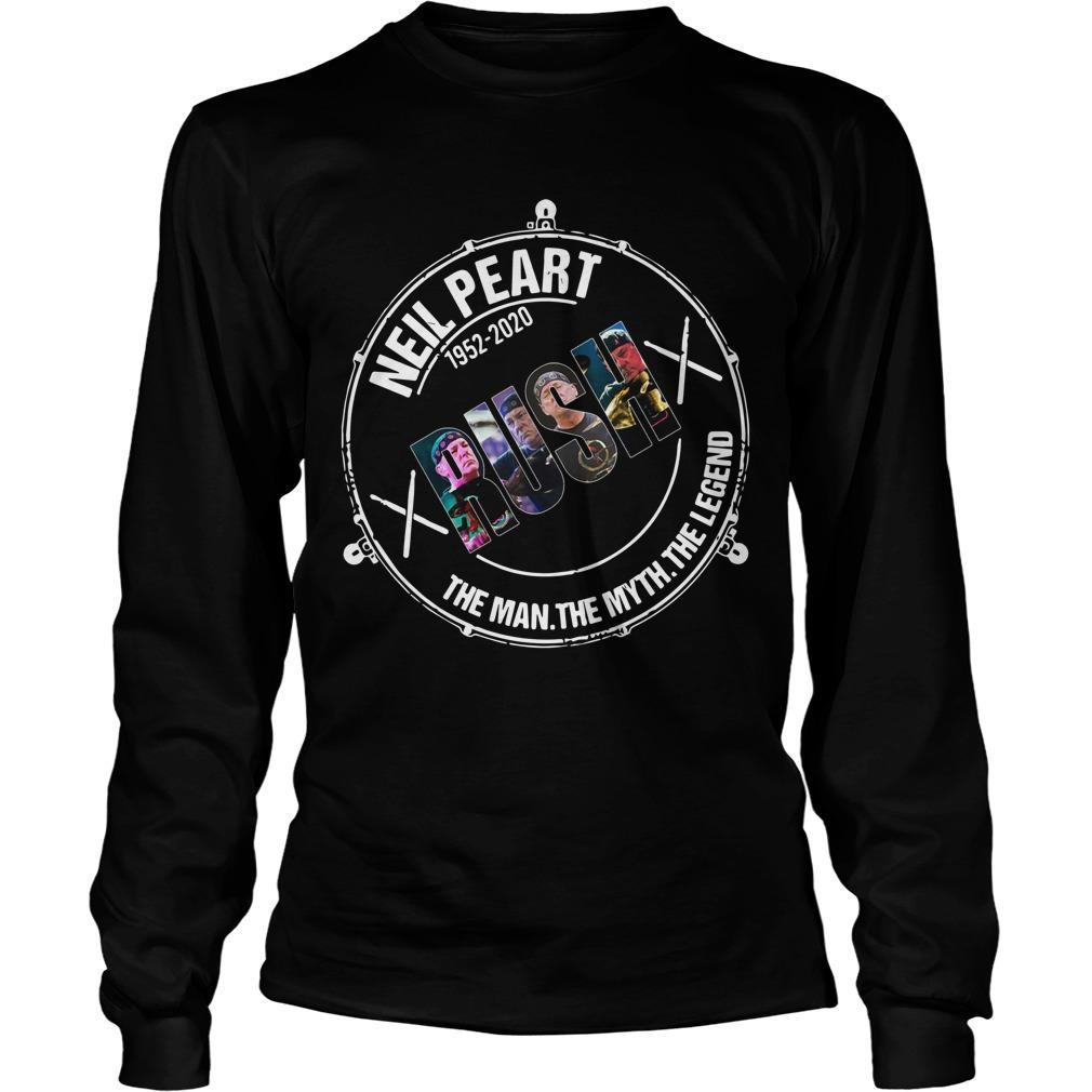 Neil Peart 1952 2020 Rush The Man The Myth The Legend Longsleeve