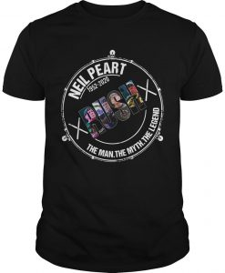 Neil Peart 1952 2020 Rush The Man The Myth The Legend Shirt