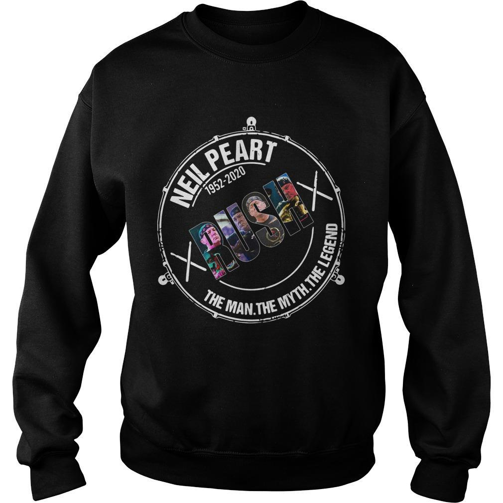 Neil Peart 1952 2020 Rush The Man The Myth The Legend Sweater