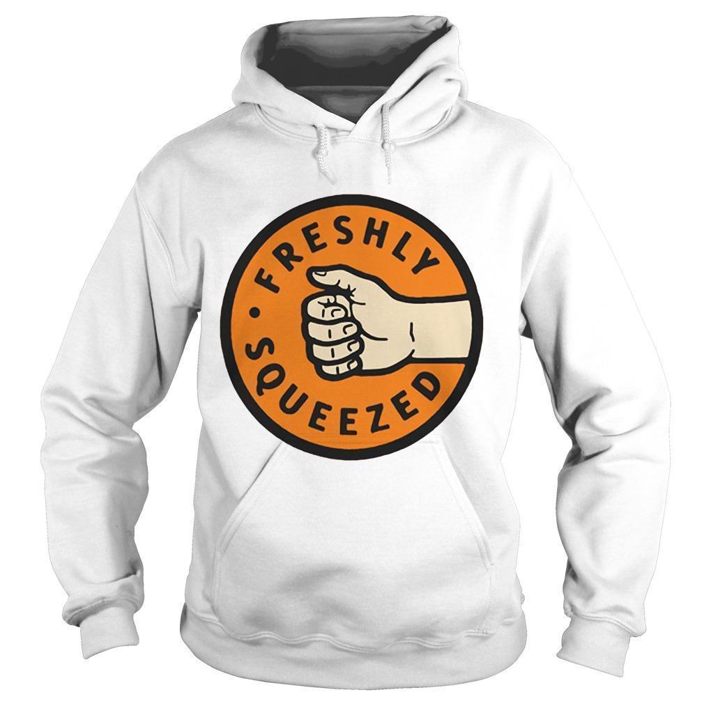 Orange Freshly Squeezed Hoodie