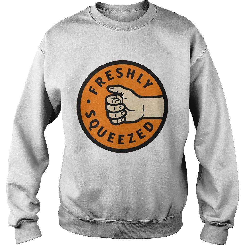 Orange Freshly Squeezed Sweater