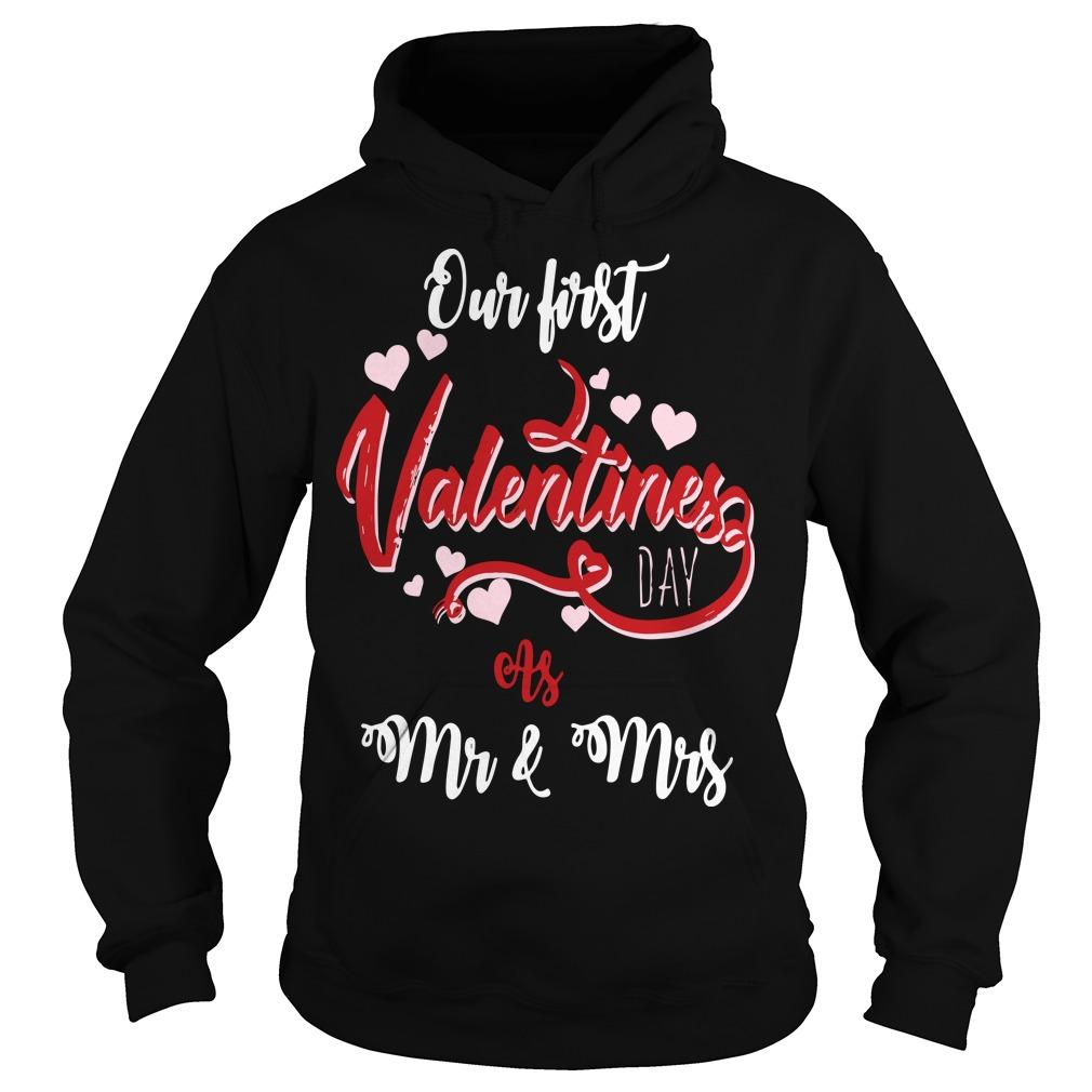 Our First Valentines Day As Mr And Mrs Hoodie