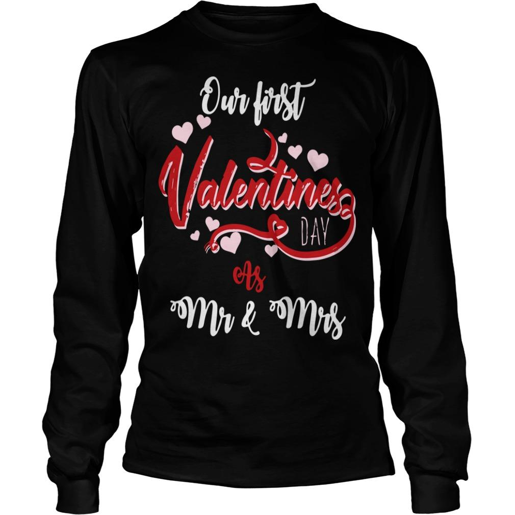 Our First Valentines Day As Mr And Mrs Longsleeve