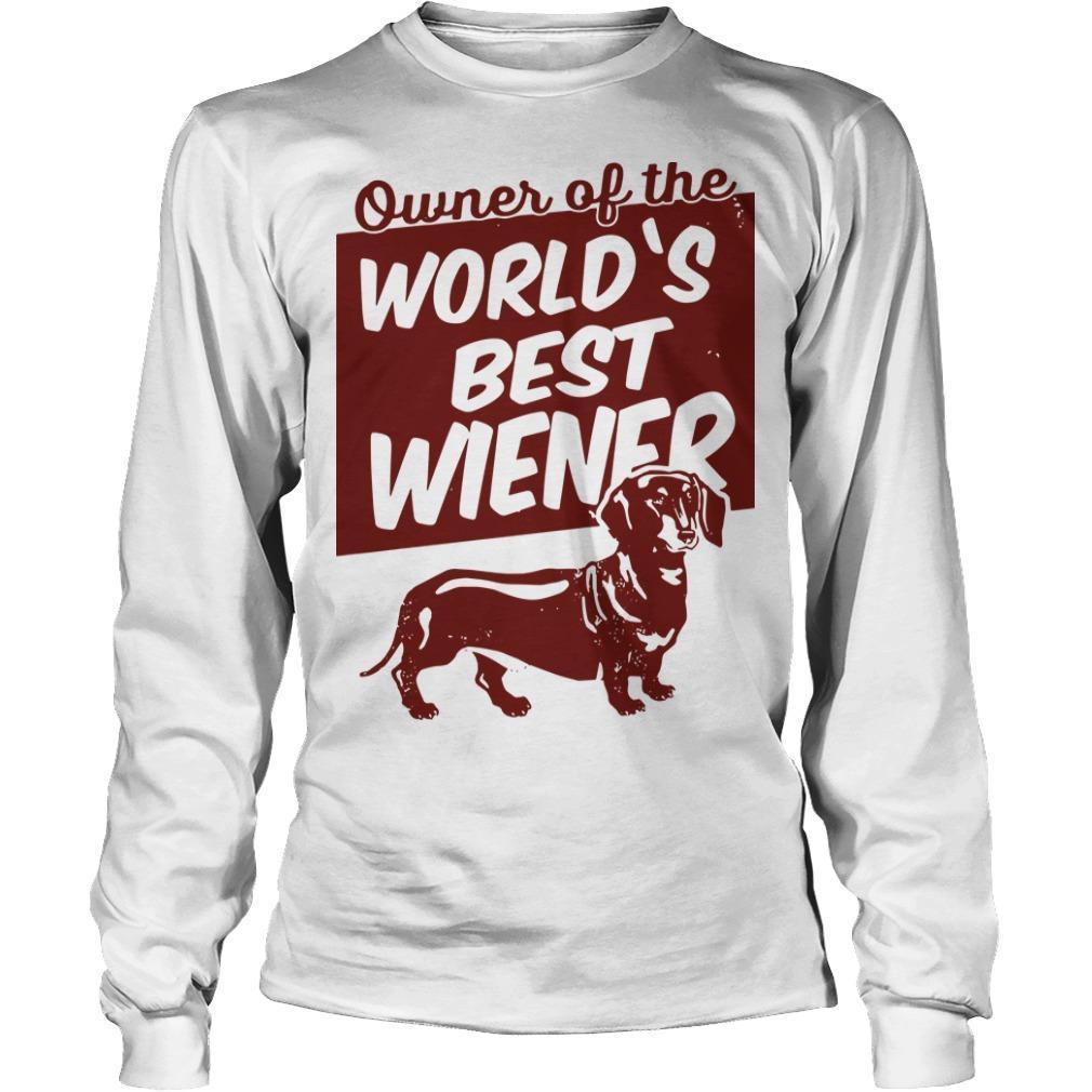 Owner Of The World's Best Wiener Longsleeve