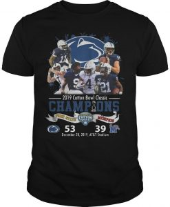 Penn State Nittany Lions 2019 Cotton Bowl Classic Champions Shirt