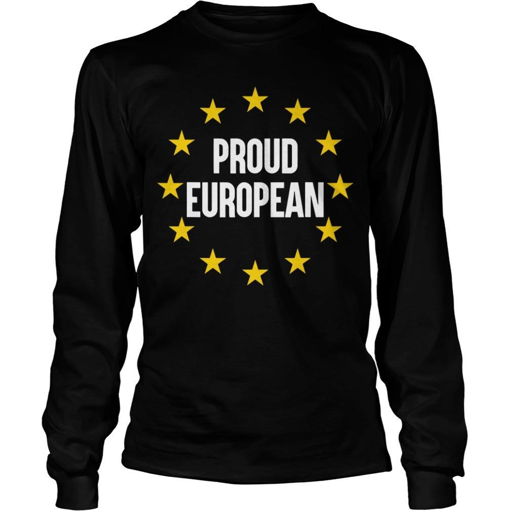 Proud European Longsleeve