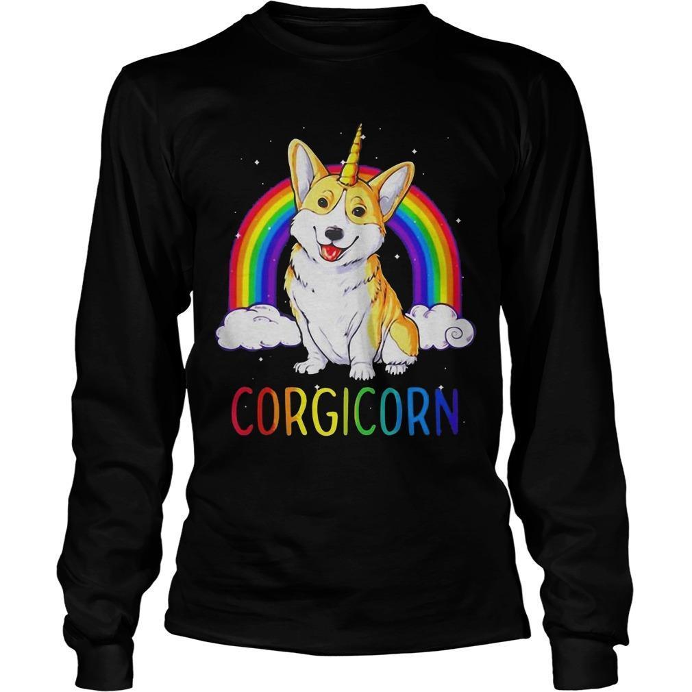 Rainbow Corgicorn Longsleeve