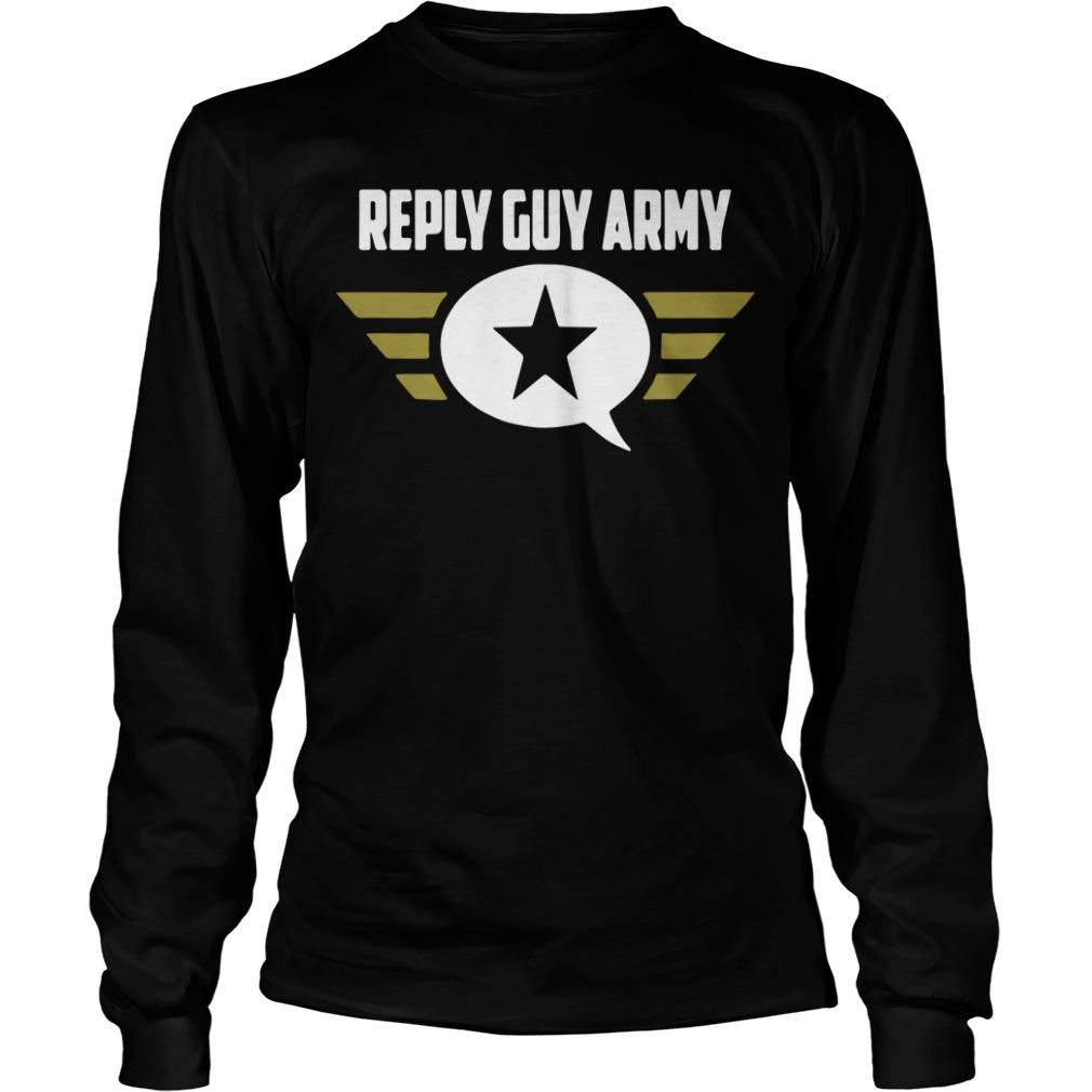 Reply Guy Army Longsleeve