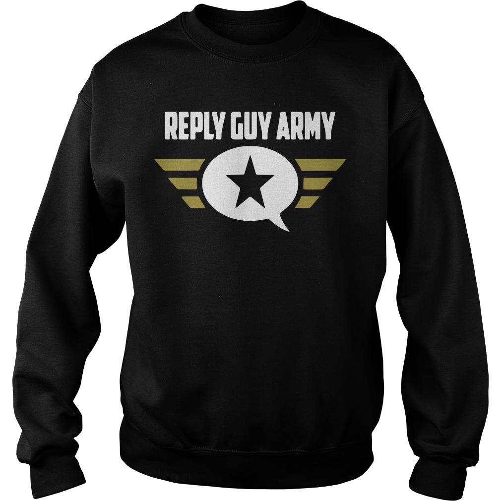 Reply Guy Army Sweater