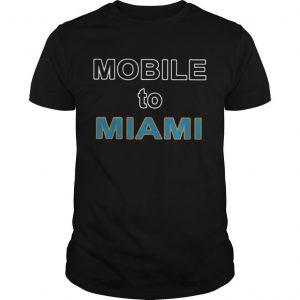 Robert Saleh Mobile To Miami Shirt