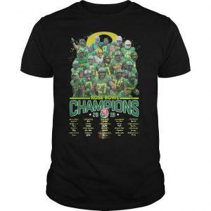 Rose Bowl Champions 2019 Signature Shirt