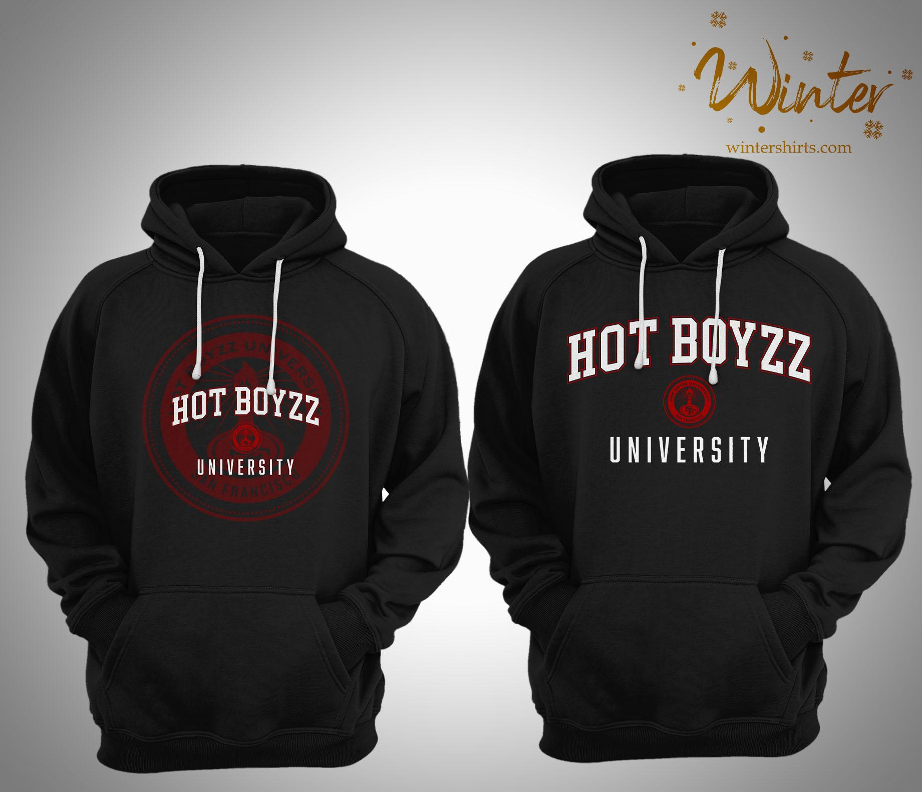San Francisco 49ers Hot Boyzz University Hoodie