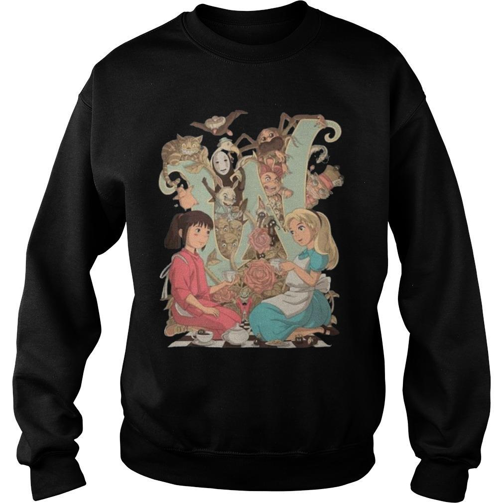 Spirited Away Characters Poster Sweater