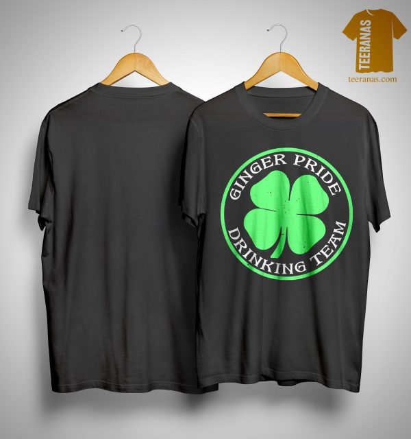 St Patrick's Day Ginger Pride Drinking Team Shirt