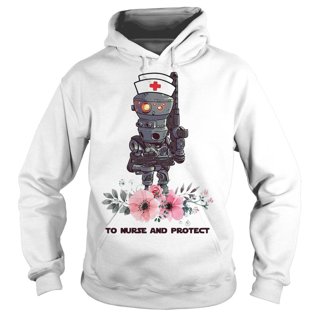Star Wars Droids To Nurse And Protect Hoodie