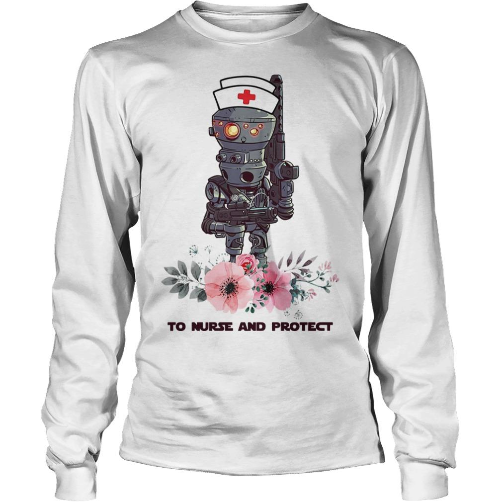 Star Wars Droids To Nurse And Protect Longsleeve