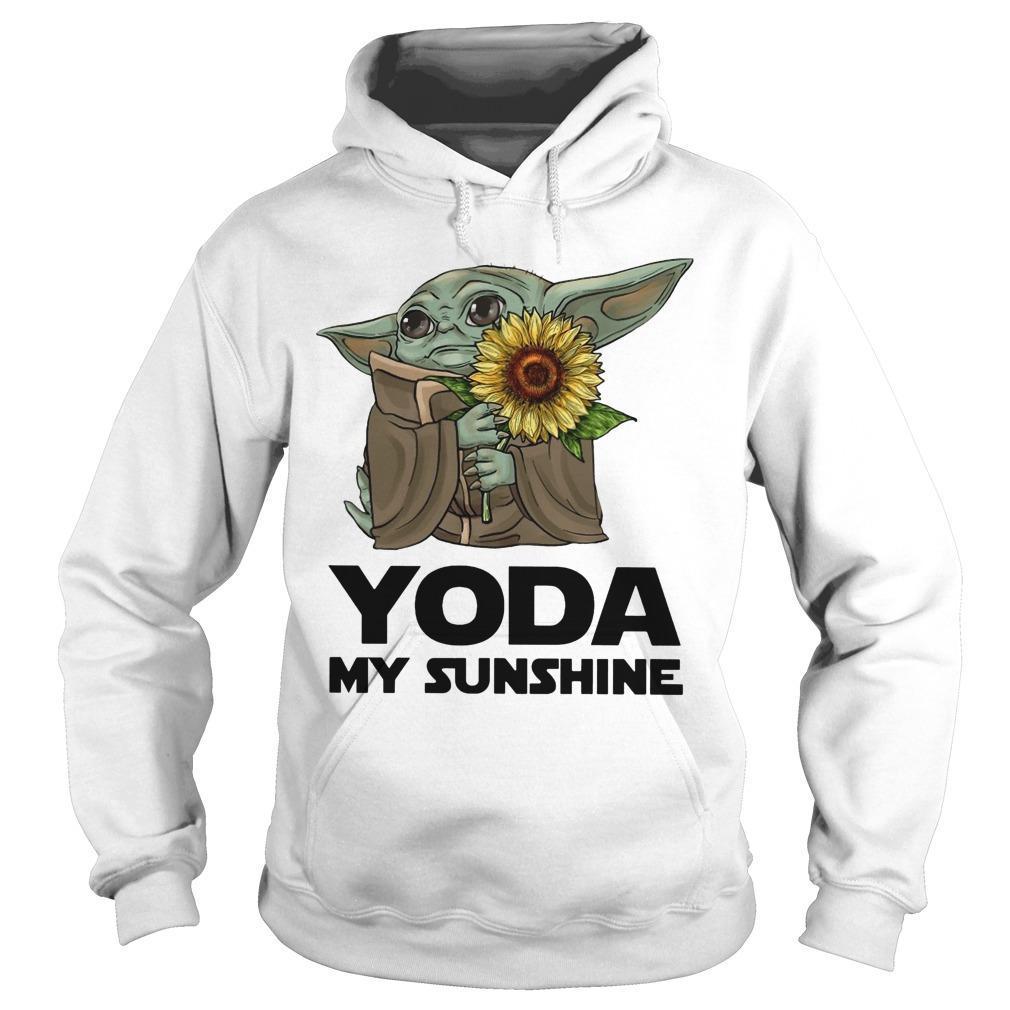 Sunflower Baby Yoda My Sunshine Hoodie