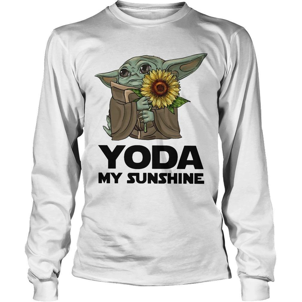 Sunflower Baby Yoda My Sunshine Longsleeve