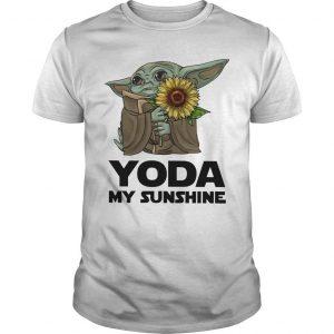 Sunflower Baby Yoda My Sunshine Shirt
