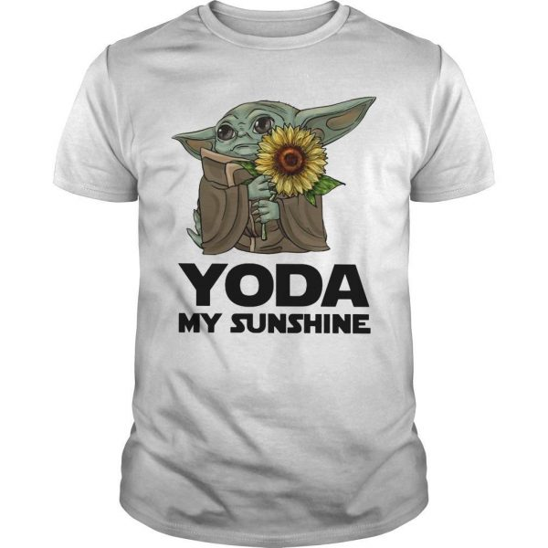 Sunflower Baby Yoda My Sunshine Shirt