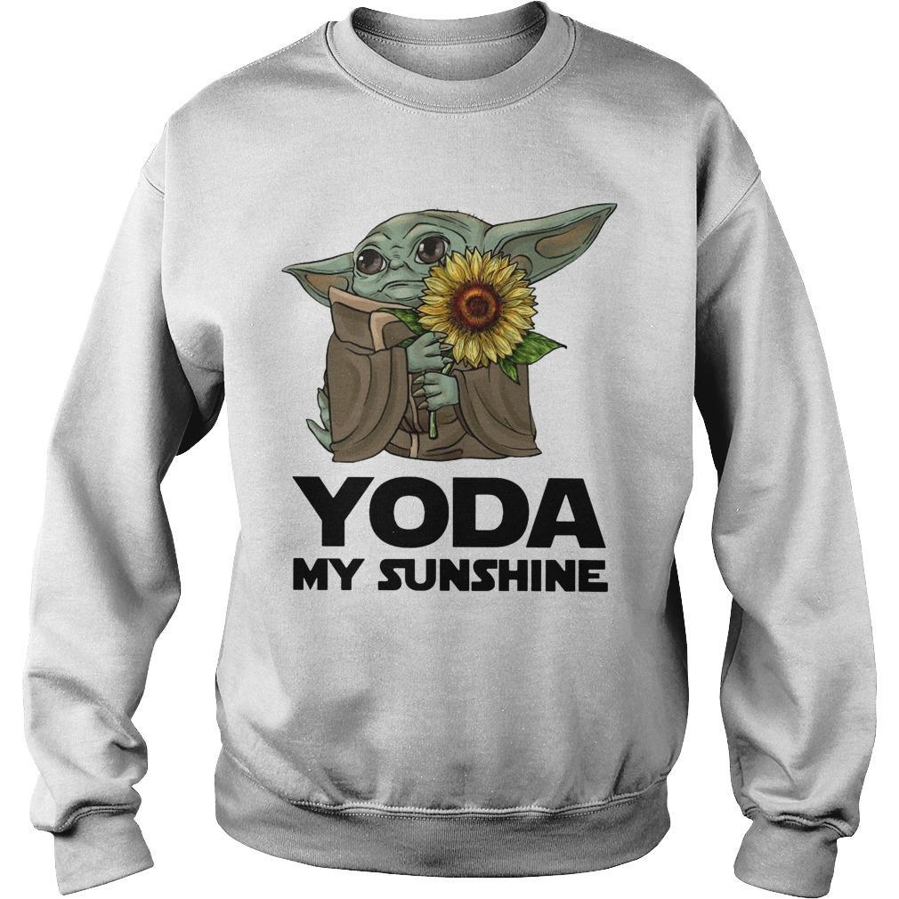 Sunflower Baby Yoda My Sunshine Sweater