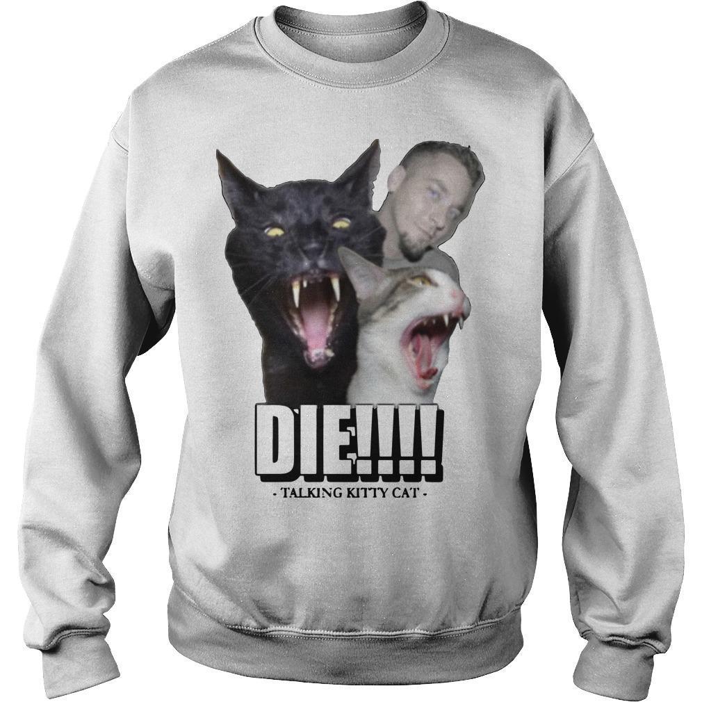 Talking Kitty Cat Die Sweater
