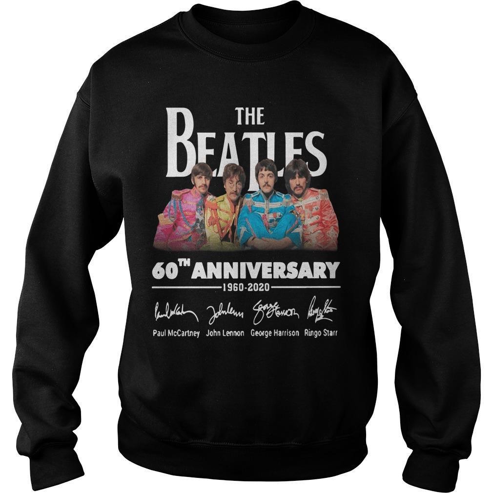The Beatles 60th Anniversary 1960 2020 Sweater
